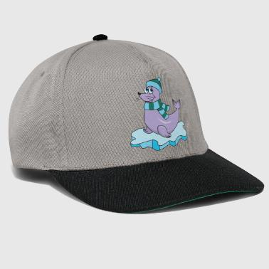 Sea Lion Cute Funny Cool Seal Sea Lion Winter - Snapback Cap