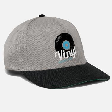 Old School Vinyl Never Dies - Snapback Cap