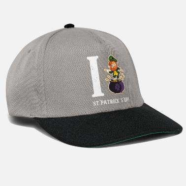 St Patricks Day Kobold st patricks day - Snapback Cap