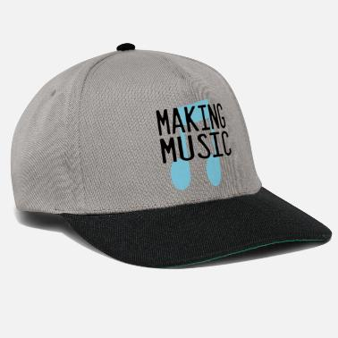 Make Music making music - Snapback Cap