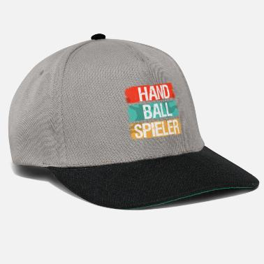 Handball Player HANDBALL handball player sport handball player - Snapback Cap