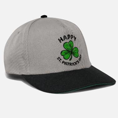 Leaf St. Patricks Day congratulations saying Patty Paddy - Snapback Cap
