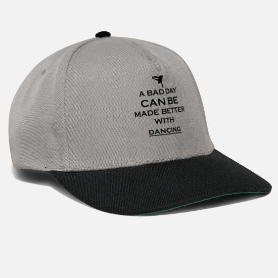 Bboy Caps & Hats - gift better bad day breakdance bboy breakin - Snapback Cap graphite/black