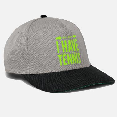 Backhand Tennis Tennis Player Tennis Racket Sport Gift - Snapback Cap