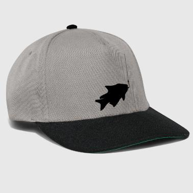 caught fish fishing swim sea koeder fish - Snapback Cap