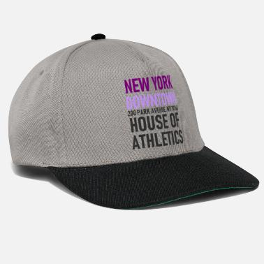 Underground New York - Downtown House of Athletics Streetwear - Snapback Cap