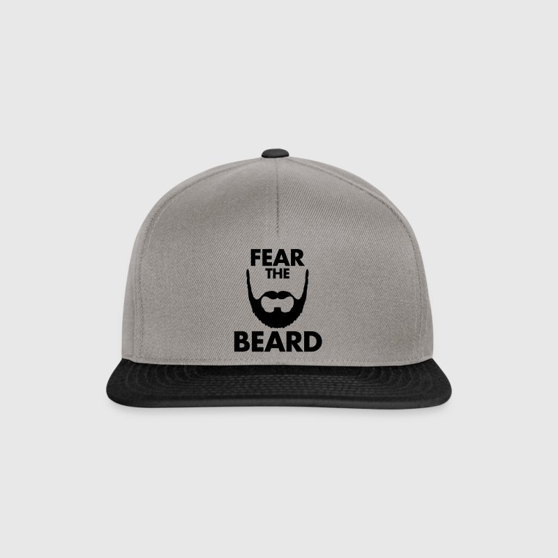 Fear The Beard - Snapback Cap
