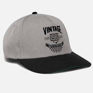 Vintage VINTAGE 1980 - Aged To Perfection - Snapback Cap