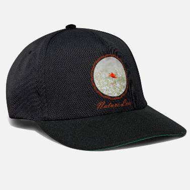 Meadow nature 6 with poppy - Snapback Cap