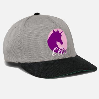 First Name Ella name first name - Snapback Cap