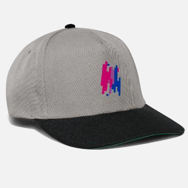 Abstract Bifil design - Snapback Cap