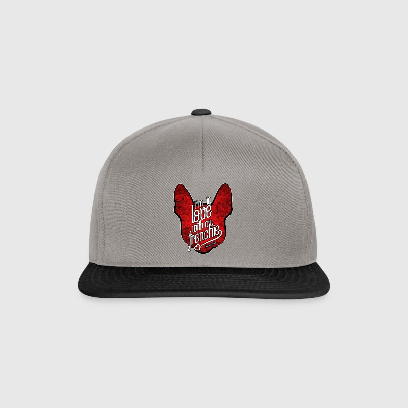 In love with my Frenchie - Snapback Cap