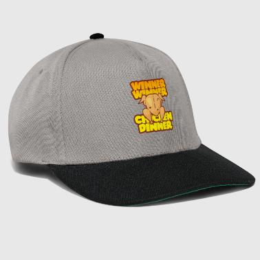 WINNER WINNER CHICKEN DINNER PUBG GAMING MOTIV - Snapback Cap
