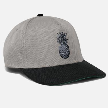 Ornament Ananas med ornament - Snapbackkeps