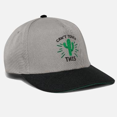 Cactus schattig (grafische cactus) Can not Touch This Tshirt - Snapback cap