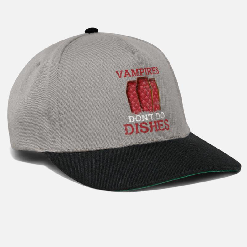 Witching Hour Caps & Hats - vampire - Snapback Cap graphite/black