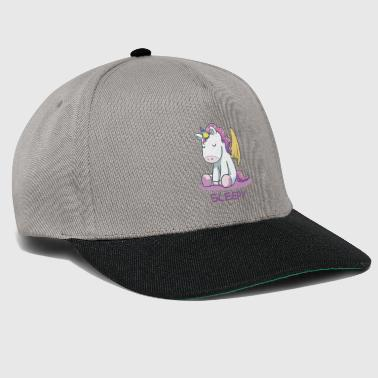 Good night UNICORN Unicorn Sleeping T-Shirt - Snapback Cap