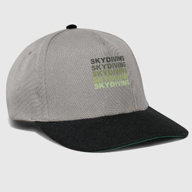 Skydiving, parachute, sky, freedom, present - Snapback Cap
