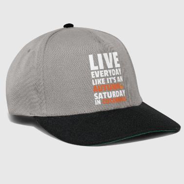 Columbus Day-Autumn Samstag in Columbus - Snapback Cap