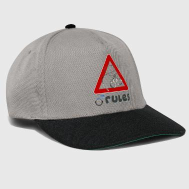 Man rules - Snapback Cap