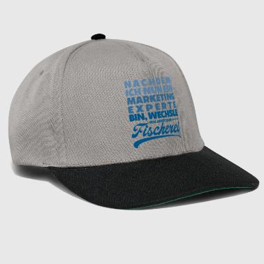Marketing Tweede carrière visser vissersgeschenk - Snapback cap