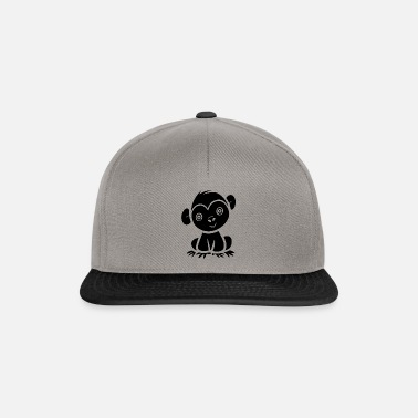 2d320981ad5 Baby monkey in the jungle - Snapback Cap