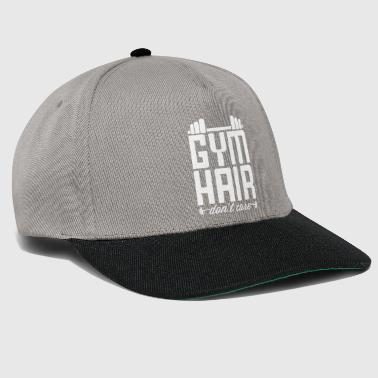 Gym Hair Do not Care - Snapback Cap