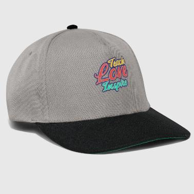 Teacher's Day - Inspire Love Teaching - Snapback Cap