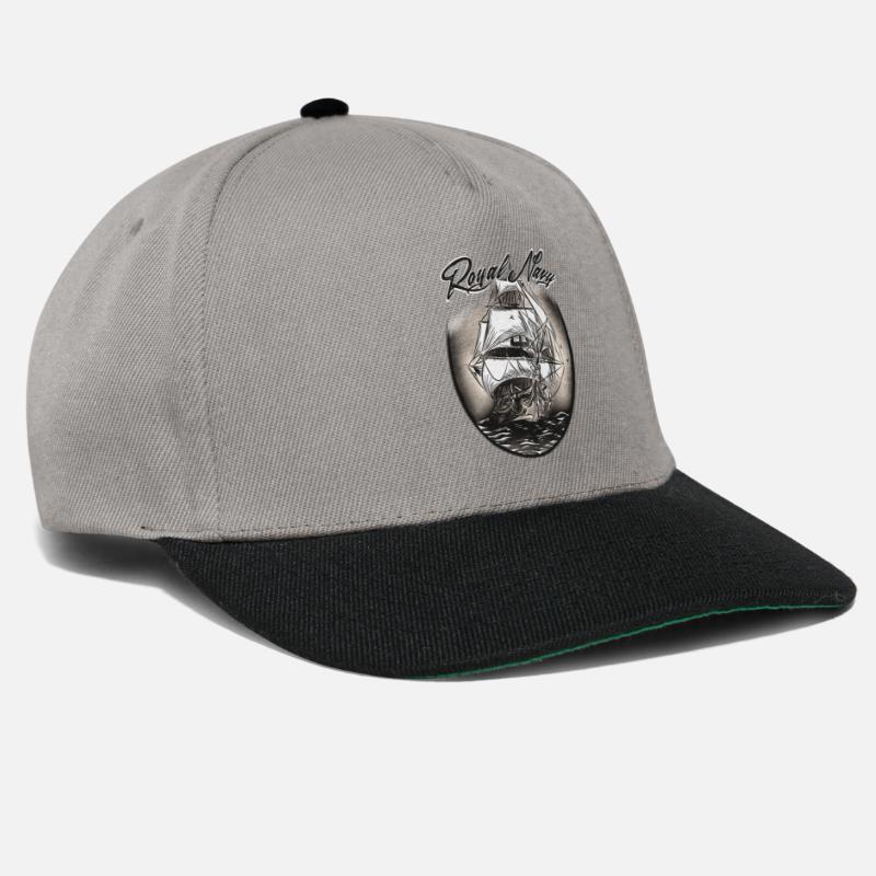 Birthday Caps   Hats - Royal Navy - Snapback Cap graphite black 29b52ee13f63