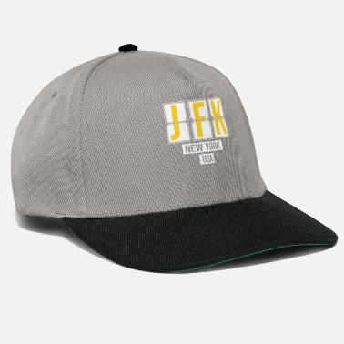 Pilot JFK - John F. Kennedy International Airport - - Snapback Cap