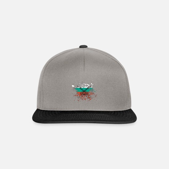 Gift Idea Caps & Hats - Bulgaria - Snapback Cap graphite/black