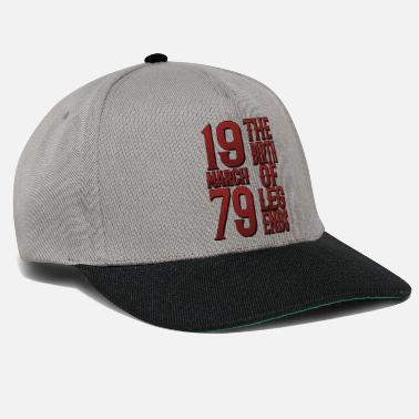 40th Birthday March 1979 - 40th Birthday Gift Ugly Design - Snapback Cap