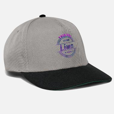 City Lima Peru Girl - Snapback Cap