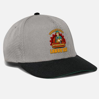 Match International JOURNEE INTERNATIONALE DU TRAVAILLEUR - Casquette snapback