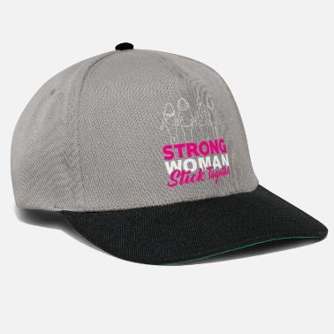 STRONG WOMEN stick together - Snapback Cap
