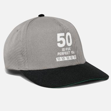 50 Years Old Birthday 50th Birthday Round 1969 Fifty Years Gift - Snapback Cap
