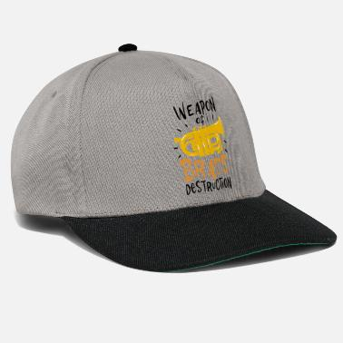 Tuba Player Weapon Of Brass Destruction Tuba Music - Snapback Cap