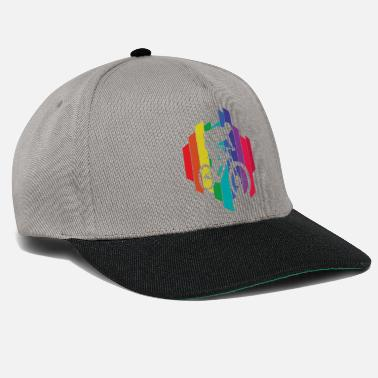 Camicia colorata per mountain bike | Colorato | partito - Cappello snapback