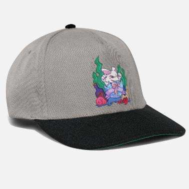 Crazy For The Sea Easter bunny seabed gift - Snapback Cap
