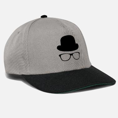 Hat with glasses - Snapback Cap