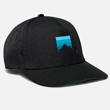 Birthday Present mountains - Snapback Cap