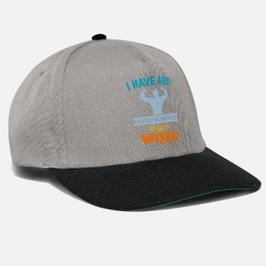 Unemployed no motivation - Snapback Cap