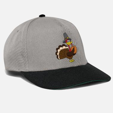 Animali Divertenti Funny Cute Cool Turkey Turkey - Snapback Cap