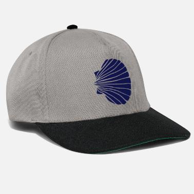 The Way Of St James Scallop VIII blue - Snapback Cap