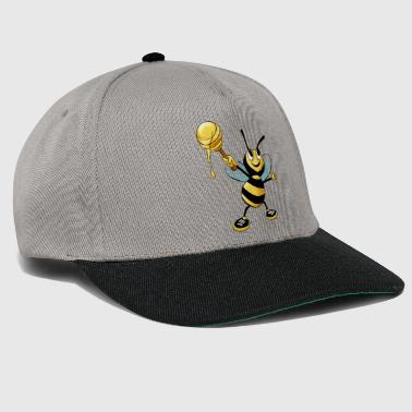 honey bee - Snapback Cap