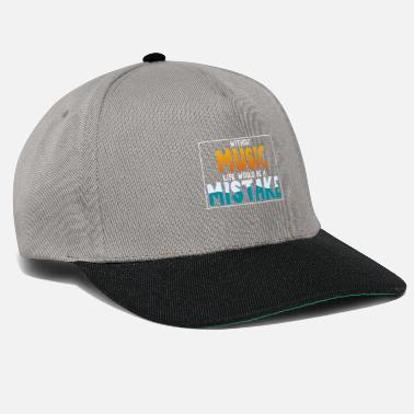Clarinet Without Music Life would be a Mistake - Snapback Cap