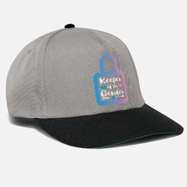 Keeper Of the Gender Baby-meddelelsesgave - Snapback cap