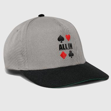 Naipes Todo en Poker Poker Card Game Casino Regalo - Gorra Snapback