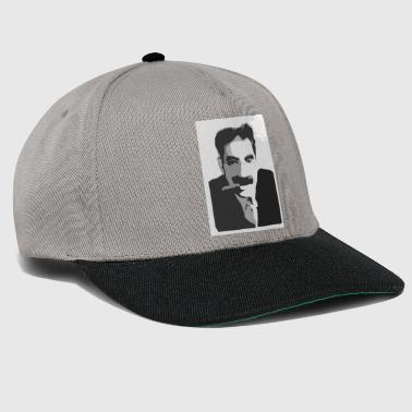 Marx Groucho Marx black and white - Snapback Cap