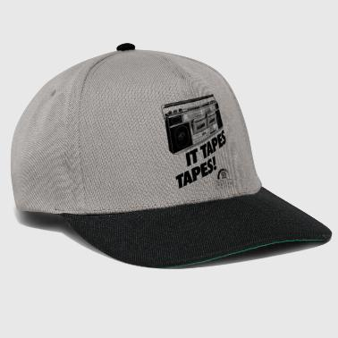 IT TAPES TAPES! Boombox Ghettoblaster - Snapback Cap